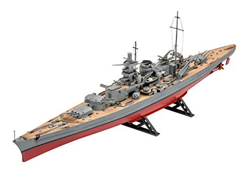 Revell 05037 - Scharnhorst im Maßstab 1:570, Modellbausatz