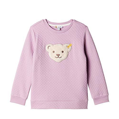 Steiff Baby - Mädchen Sweatshirt , Violett (LAVENDER MIST 7020) , 80 (Herstellergröße:80)