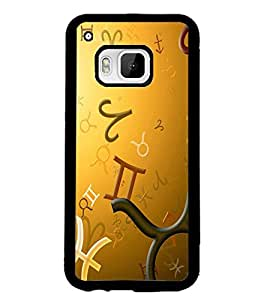 PRINTSWAG SYMBOLS Designer Back Cover Case for HTC ONE M9