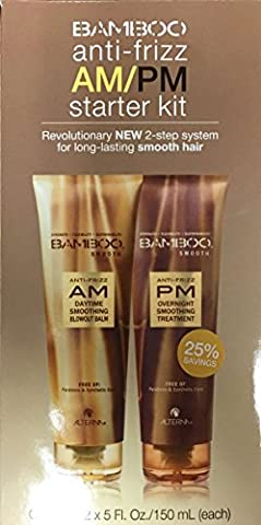 Alterna Bamboo Smooth PM cheveux Anti Frisottis le pfleges et 1 Stk