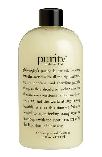 Philosophy Purity Made Simple One-step Facial Cleanser 2oz/59.2ml by Philosophy (English Manual)