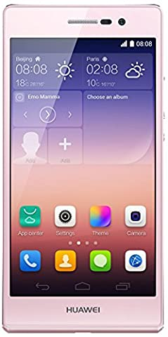 Huawei Ascend P7 Smartphone (12,7 cm (5 Zoll) LCD-Display, 13 Megapxiel Kamera, 16 GB Interner Speicher, Android 4.4.2)