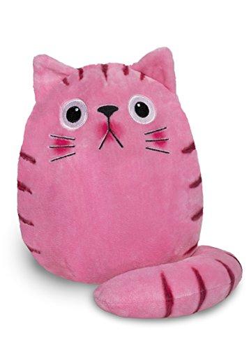Studio 100 MEDK00000240 - Dicke Katze and Friends Bubblegum Plüsch Größe L, rosa -