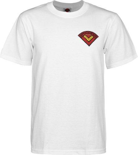 powell-peralta Vallely Elefant T-Shirt weiß