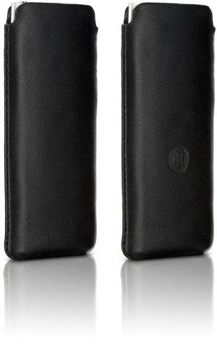 DLO 63036 Leder-Tasche/Leder Hülle für Apple iPod Nano 4. Gen schwarz (Gen Nano Ipod 4)