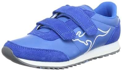 KangaROOS Changed-Becky 1270A, Mädchen Sneaker, Blau (flyhigh/wht 430), EU 32