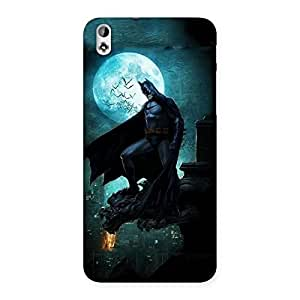 Neo World Night Black Man Back Case Cover for HTC Desire 816
