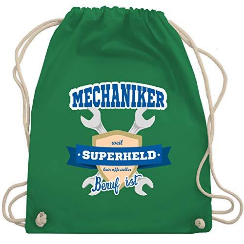 r - weil Superheld kein offizieller Beruf ist - Unisize - Grün - WM110 - Turnbeutel & Gym Bag ()