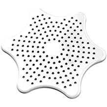 Ducha Baño Cocina desagüe del lavabo del fregadero del tamiz filtro de desagüe de la cubierta principal de estar blanca