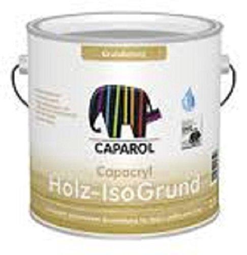 29,16EUR/L - CAPAROL Capacryl Holz-Isogrund Grundierfarbe Holzgrundierung weiss 2,5 L