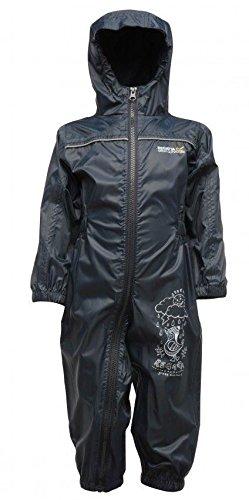 Regatta Puddle Ii Kids Waterproof & Breatheble Rainsuit - NAUTIC NAVY - - Für Mädchen-größe 14 Ski-jacken