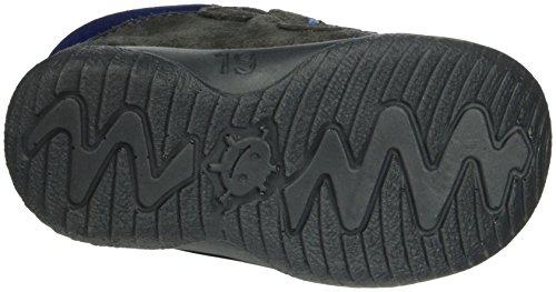 Richter Kinderschuhe Jungen Mogli Low-Top Grau (steel/cobalt 6501)