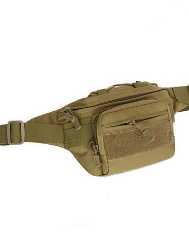 ZXC/Camping Jagd Reise Wandern Tasche Brust Pack Outdoor Military Tactical Taille Tasche MOLLE System Tactical Tasche Fanny Pack Khaki