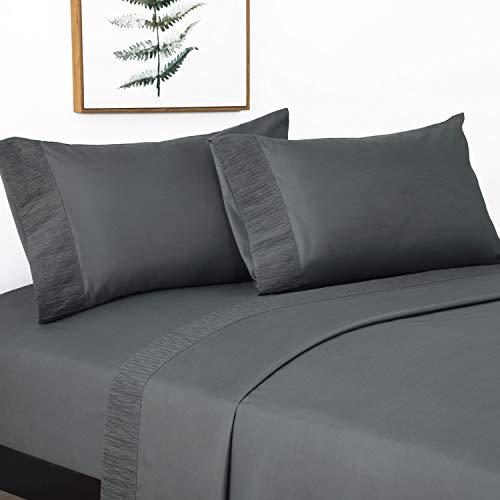 Bedsure Juego Sábanas 150x200/190 cm -