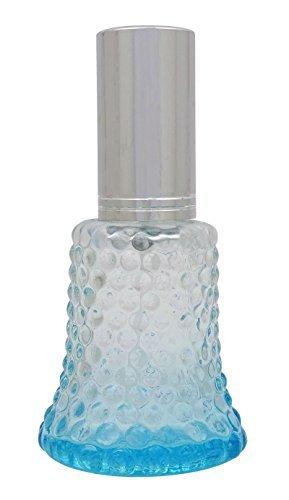 Lot de 4 bouteilles vides en verre couleur gros Rechargeable Essential Oil Spray atomiseur bouteille de parfum Bouteille en verre couleurs assorties