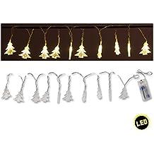 Weihnachtsbaum lichterkette lange