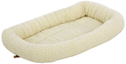 AmazonBasics Padded Pet Bolster Bed (21x12-inch)