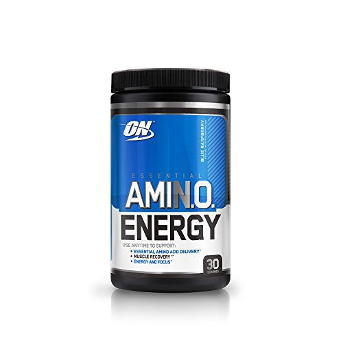 Optimum Nutrition (ON) Amino Energy Drink - 30 Servings (Blue...