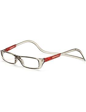 Vococal - Uomini Donne Regolabile Magnetico Occhiali da lettura,Occhiali da Presbiopia + 1.00D