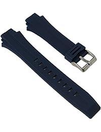 Ersatzband Uhrenarmband Kautschuk Band dunkelblau passend zu Calypso K5586/5 K5586/alle