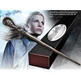 Fleur Delacour Wand with Name Clip Display Stand in Collector's Box - Harry Potter Noble Collection