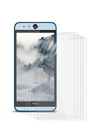 5X HTC Desire Eye | Schutzfolie Matt Bildschirm Schutz [Anti-Reflex] Screen Protector Fingerprint Handy-Folie Matte Bildschirmschutz-Folie für HTC Desire Eye Bildschirmfolie
