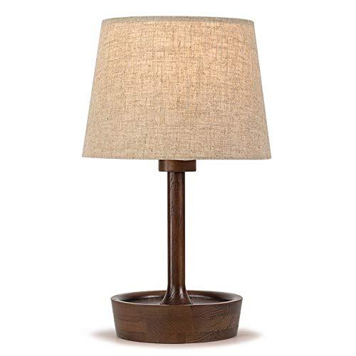 e für Zuhause Tischlampe schlafzimmer nacht kreative nordische dekoration retro europa persönlichkeit amerika nachttischlampe nachttischlampe ( Color : B , Größe : Buttons ) ()