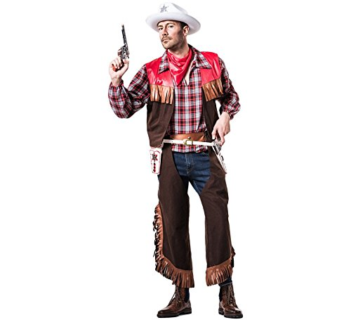 El Rey del Carnaval Kostüm Cowboy Bilder - Hombre, L