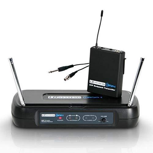 LD Systems ECO Series 2-863,900 mhz micrófono con cinturón con siste