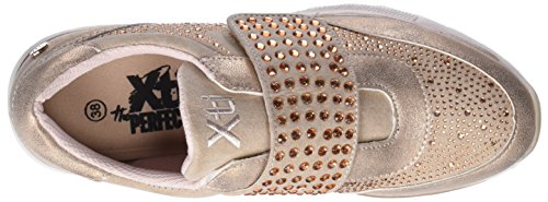 Xti 47827, Sneakers Basses Femme Rose (Nude)
