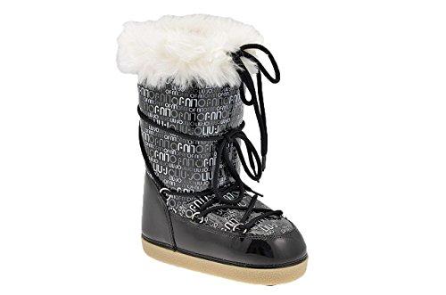 Liu Jo 5051 Vinil Après-ski Neuf Chaussures Fem. Noir