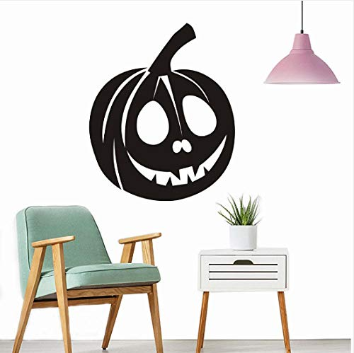 Happy Halloween Hintergrund Wandaufkleber Fenster Dekoration Aufkleber Dekor Wanddekor Dekoration Zubehör 44 * 36 Cm