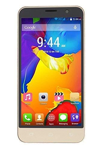 Admet J3 5 Inch Touchscreen Dual Sim Andorid 5.0.2 Lollipop 1 GB RAM and 4 GB internal memory (Gold)