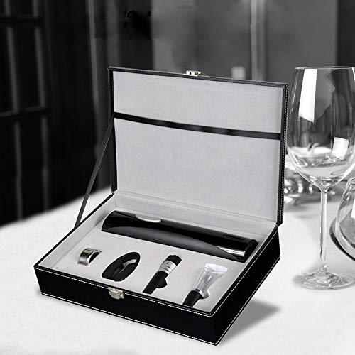 Lys Apribottiglie Elettrico Apribottiglie Elettrico per Batteria Apribottiglie per Vino Regalo d'Affari di personalità Creativa,White
