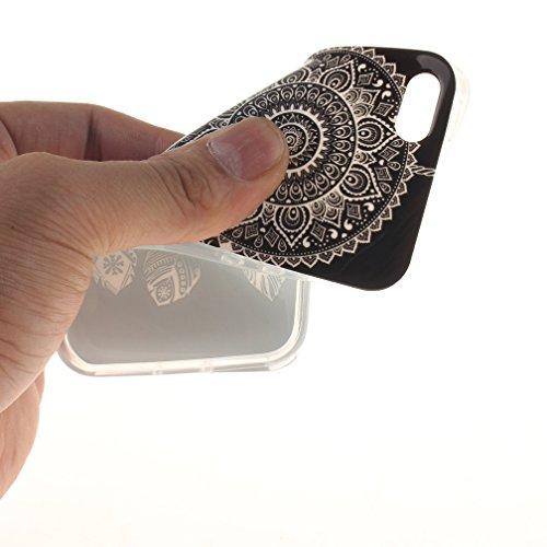 XiaoXiMi iPhone SE Hülle Gel Gummi Silikon Schutzhülle für iPhone SE Soft TPU Silicone Case Cover Weiche Flexible Schale Schlanke Glatte Tasche Ultra Dünne Leichte Etui Kratzfeste Stoßfeste Handyhülle Traumfänger