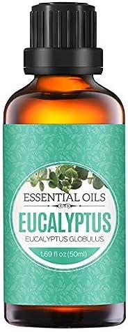 Homasy Aceite Esencial de 100% Puro Aceite Perfumado sin Diluir, Natural, Orgánico para Difusor, Relax, Alivio