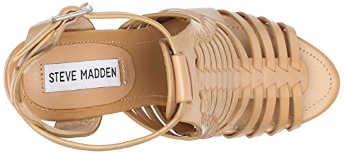 Steve Madden Damen Sandrina Sandalen Natural Leather