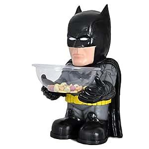 bonbonhalter batman figur mit schale zu karneval fasching deko spielzeug. Black Bedroom Furniture Sets. Home Design Ideas