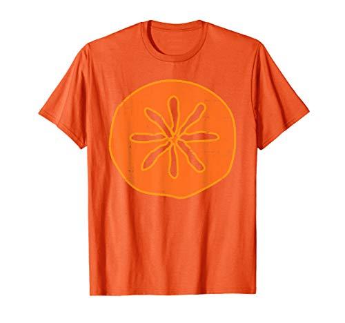 Persimmon Kaki Funny Fruit Lazy DIY Easy Halloween Costume T-Shirt