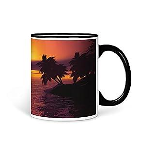 aina Tasse Kaffeetasse Palmen Natur Motiv V3