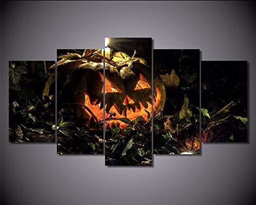 ück Wand Kalligraphie Halloween Herbst Hintergrund Malerei Home Decor Druckt Bild Poster Kunst Leinwand Malerei,Size 1 ()