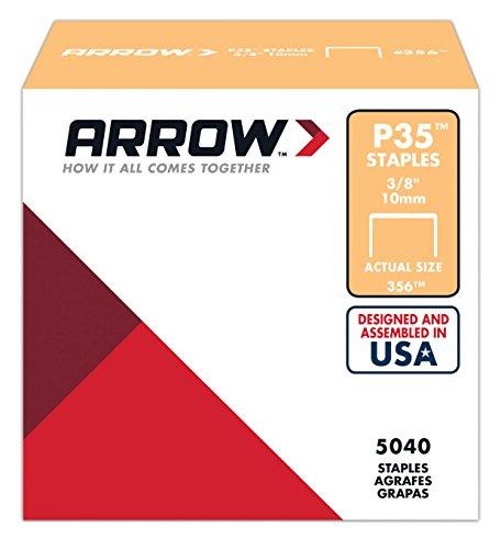 Arrow 031026 356 Boîte de 5000 Agrafes 10 mm pour Agrafeuse P35