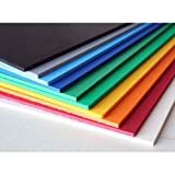#8: ParaspapermartA4 EVA Foam Sheet Thick Used for Scrapbooking, Craft Projects, Decorations, Multicolor (10 Sheets, 5mm)