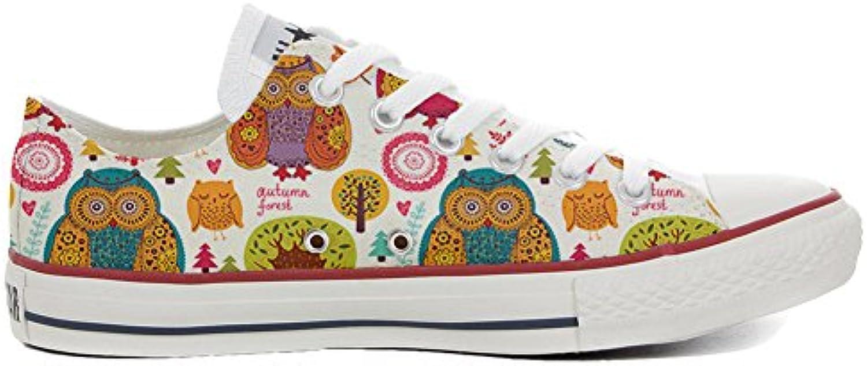mys Converse All Star Personalisierte Schuhe (Handwerk Produkt) Autumn Forest