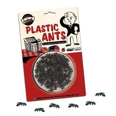 Scherzartikel-Set Plastik Ameisen PICNIC