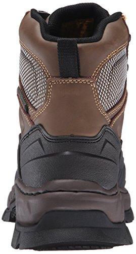 Skechers Pour Le Travail-départ Vinton Acier Toe Work Brown