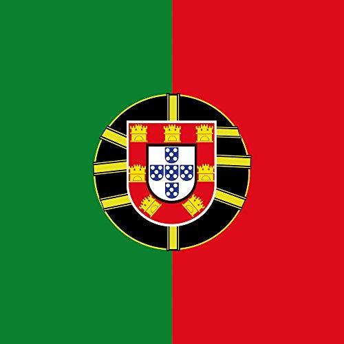 Apple iPhone 5s Case Skin Sticker aus Vinyl-Folie Aufkleber Portugal Flagge Fußball DesignSkins® glänzend