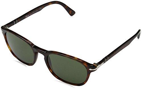 Persol Herren 0PO3148S Sonnenbrille, Braun (Havana/Green), 53