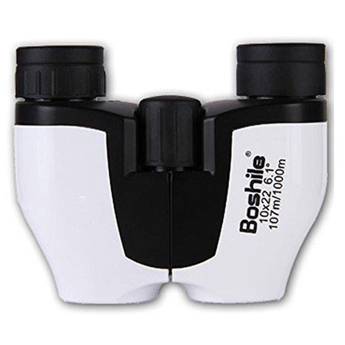 urchoiceltd® boshile 10x 22ZOOM Objektiv travel HD BaK4Prism Fernglas Teleskop Nacht Vision Wasserdicht beschlagsfrei Tragbare Teleskop mit Handschlaufe Tasche