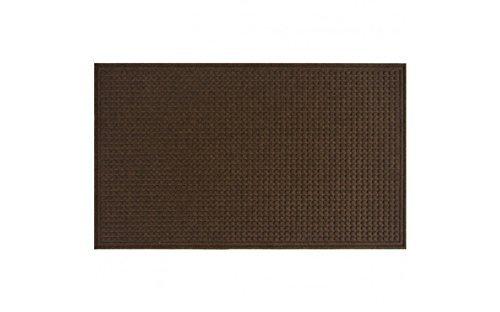 Apache Mills Squares Mat, Walnut, 3-Feet by 5-Feet by Apache Mills -
